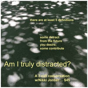 Are You Really Distracted? 3-series call
