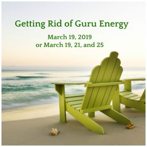Getting Rid of Guru Energy