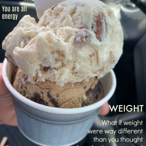 Weight – what if it's about way more, and more simple?